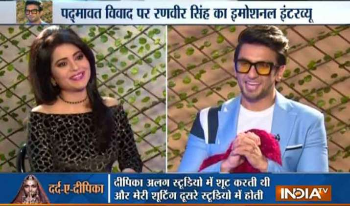 Ranveer-Singh-exclusive-and-emotional-interview-with-India-TV-after-the-release-of-Padmaavat- Khabar IndiaTV