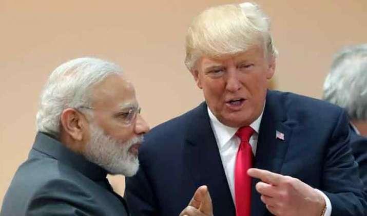 Trump-Modi-discuss-situation-in-Maldives-over-phone-call- Khabar IndiaTV