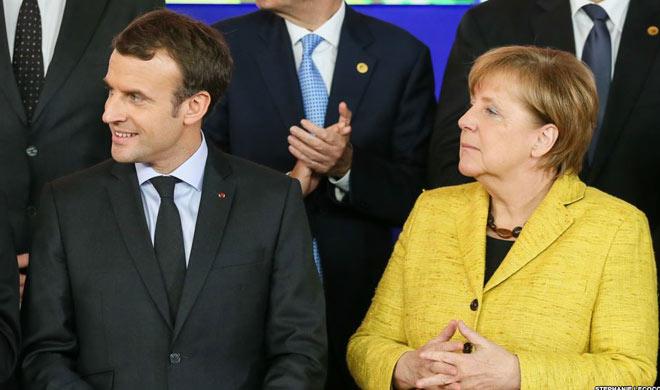 Macron Merkel will discuss with Putin on the ceasefire...- Khabar IndiaTV
