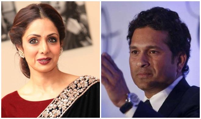 श्रीदेवी और सचिन...- India TV