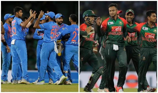 भारत और बांग्लादेश टीम- Khabar IndiaTV