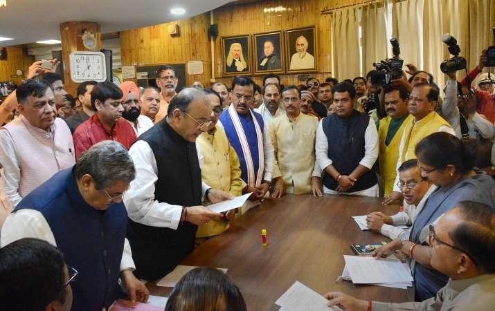 Arun-Jaitley-files-nomination-for-Rajya-Sabha-polls- Khabar IndiaTV