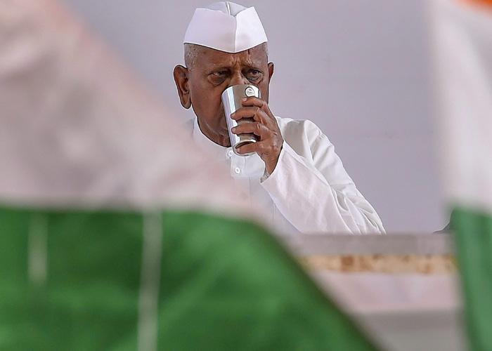 social activist anna hazare- India TV