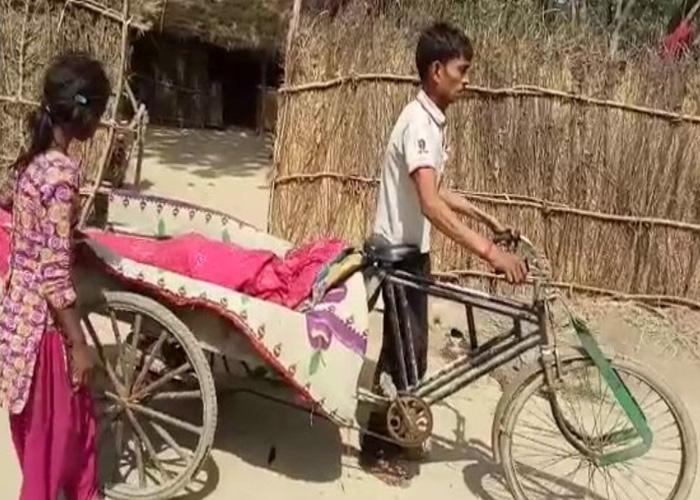 अपने पिता के शव को...- India TV