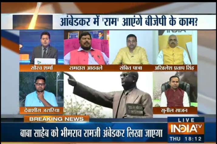 Big debate on Indiatv- India TV
