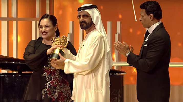 British teacher Andria Zafirakou wins $1-million global best teacher award in Dubai- India TV