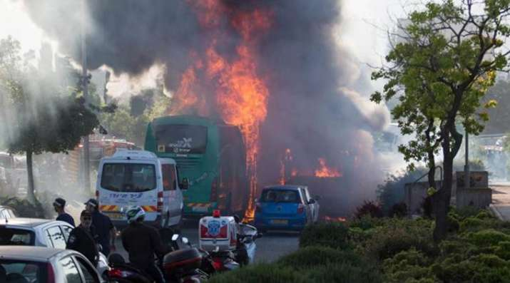 Thailand bus fire- India TV