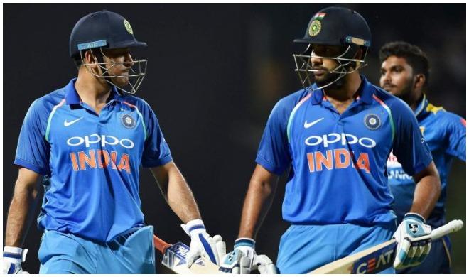 एम एस धोनी और रोहित...- India TV