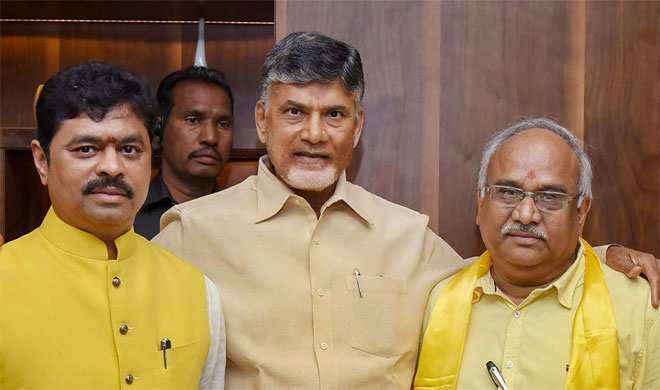 TDP did not quit NDA for selfish reasons, says Andhra Pradesh CM Chandrababu Naidu | PTI Photo- India TV