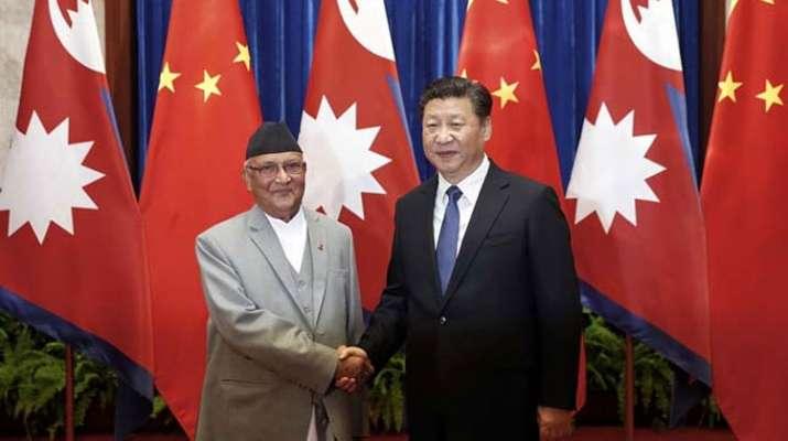 Chinese President Xi Jinping and Nepal Prime Minister Khadga Prasad Oli | AP Photo- India TV