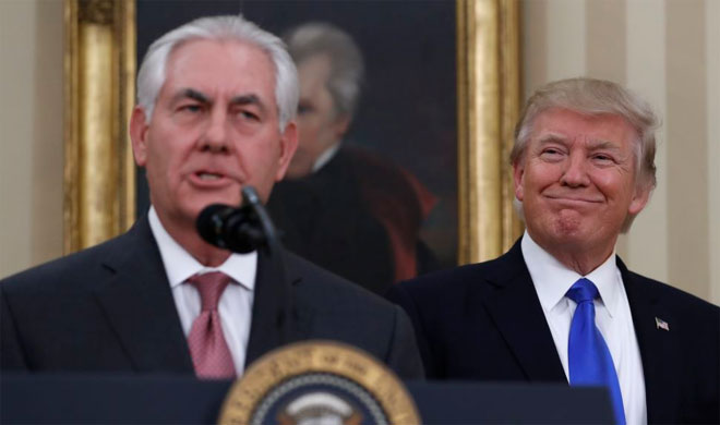 Donald Trump sacks Rex Tillerson | AP Photo- Khabar IndiaTV