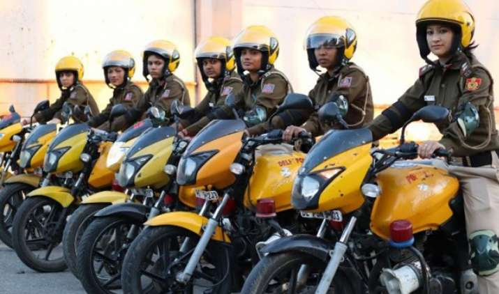 Delhi-All-women-patrolling-squad-launched-on-International-Womens-Day- Khabar IndiaTV