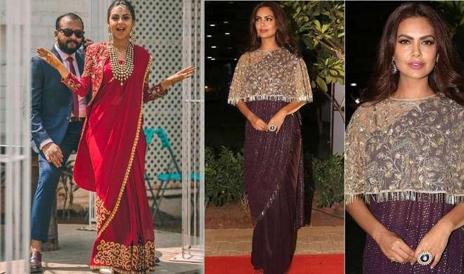 fashionable saree- India TV