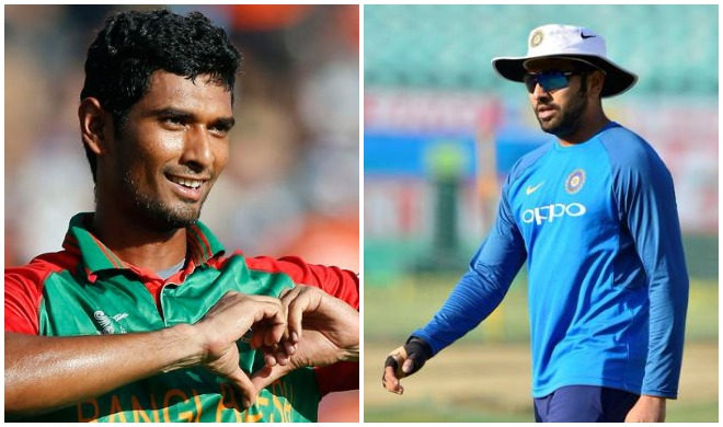 महमूदुल्लाह और रोहित...- India TV