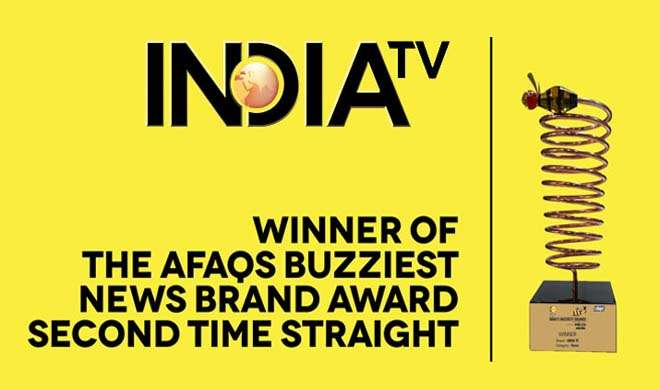 Indiatv Buzziest Award- Khabar IndiaTV