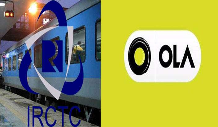 IRCTC Partnership With Ola?