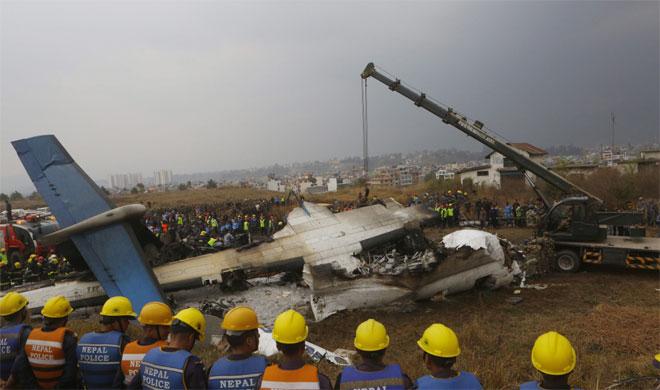 US-Bangla Airlines plane crashes while landing at Nepal's Kathmandu airport | PTI- India TV