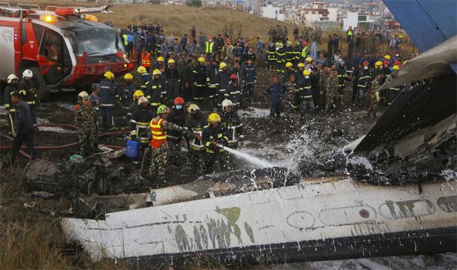 Kathmandu plane crash | PTI Photo- India TV