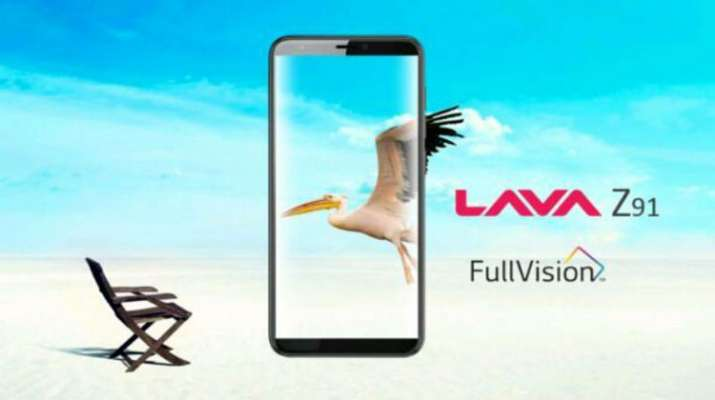 Lava Z91 with 5.7-inch HD+ display and face unlock launched in India- India TV