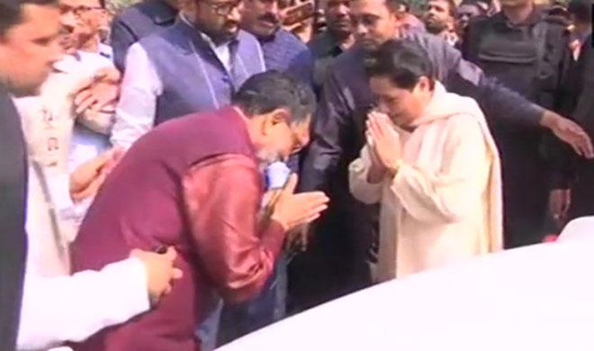 Ram Govind Choudhury met Mayawati- Khabar IndiaTV