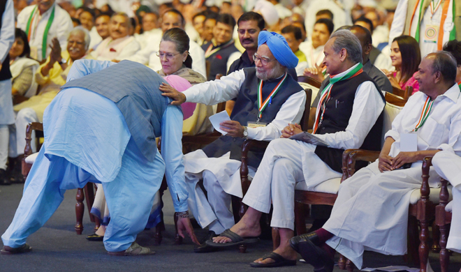 navjot singh sidhu and manmohan singh- Khabar IndiaTV