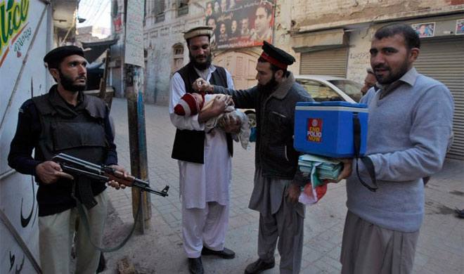 Pakistan: 2 polio workers killed in ambush in tribal region | AP Photo- India TV