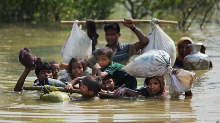 United Nations chief warns of monsoon's threat to Rohingya | AP Photo- India TV