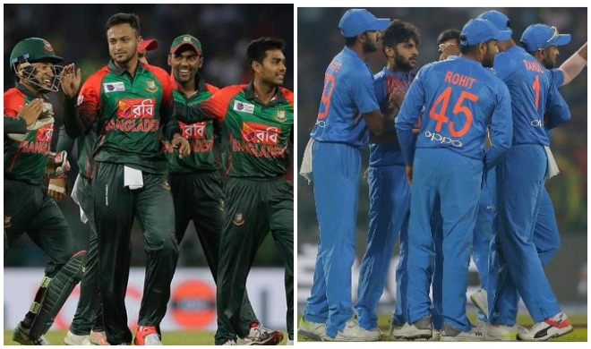 भारत और बांग्लादेश टीम- India TV