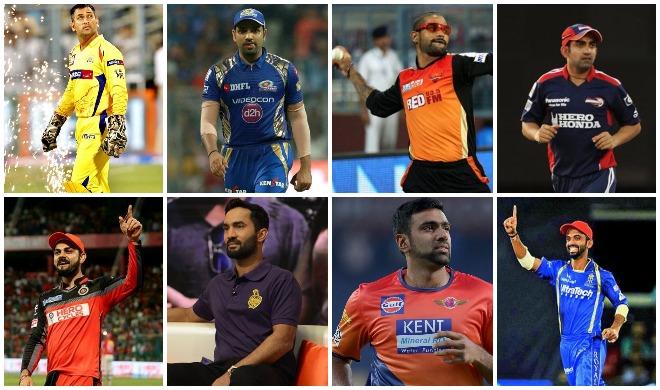 आईपीएल के सभी कप्तान...- India TV
