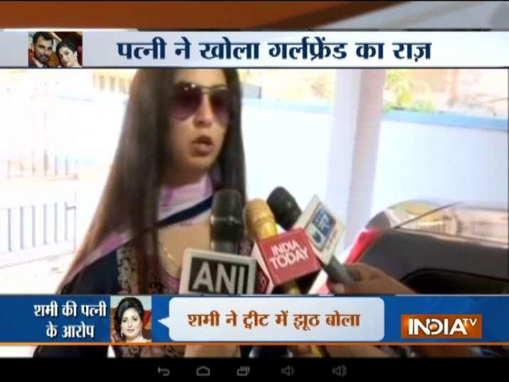 हसीन जहां- Khabar IndiaTV
