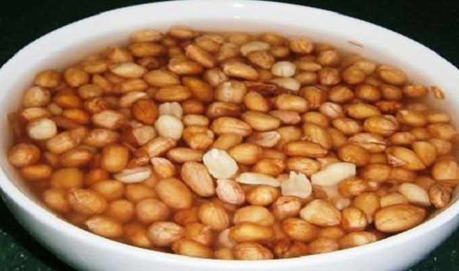 soaked peanuts- Khabar IndiaTV