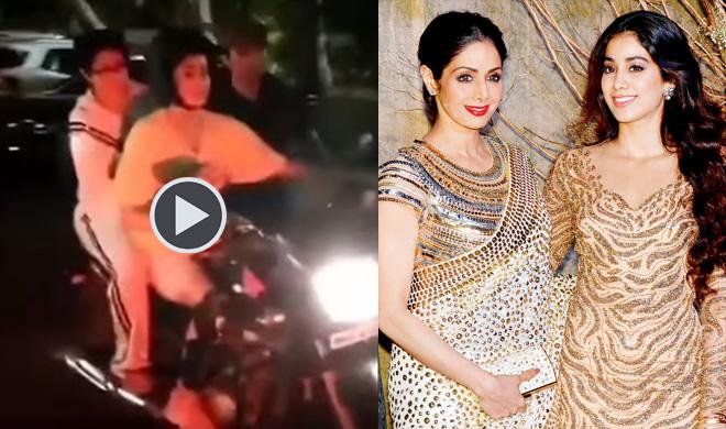 श्रीदेवी, जाह्नवी कपूर- Khabar IndiaTV