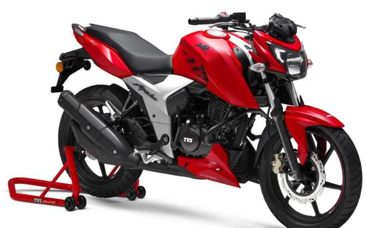 TVS Apache RTR 160 4V- India TV Paisa