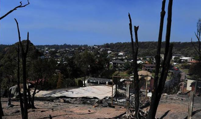 90 houses destroyed due to fire in forests in Australia- India TV