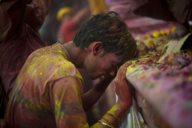 Bake Bihari temple- India TV