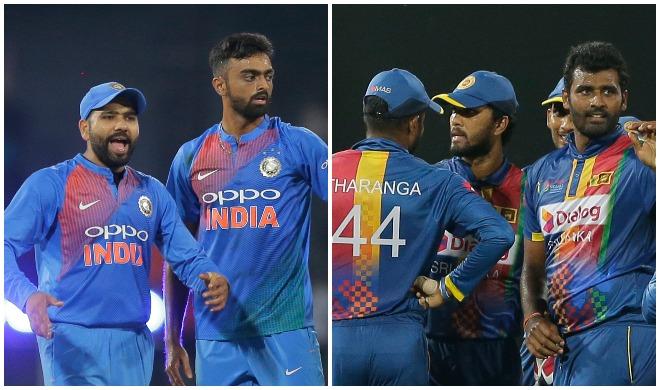 भारत और श्रीलंकाई टीम- Khabar IndiaTV
