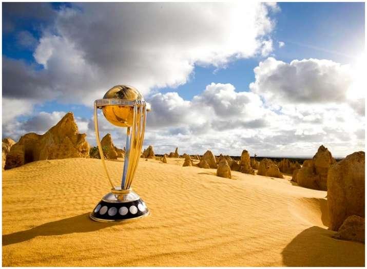 विश्व कप ट्रॉफी- India TV
