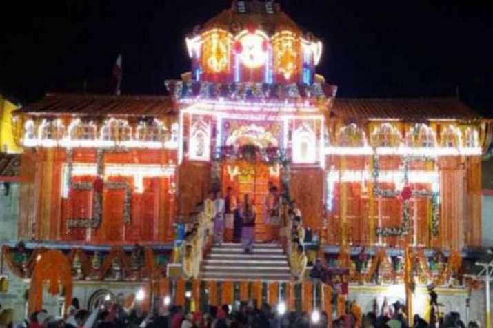 badrinath temple- India TV