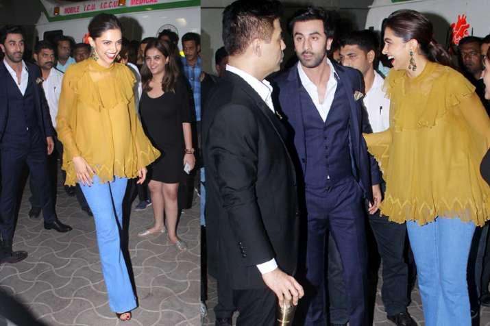 Deepika Padukone and Ranbeer Kapoor- India TV