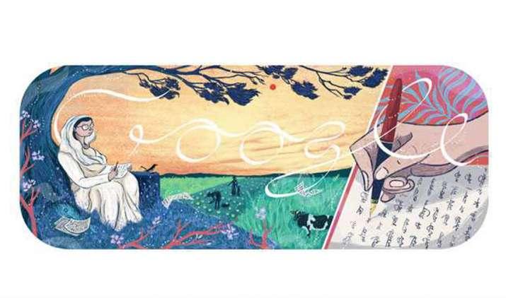 Google Doodle celebrates Jnanpith winner Mahadevi Varma- India TV