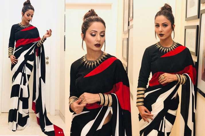 hina khan saree- India TV