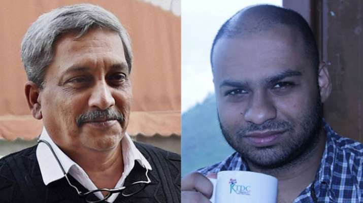 Manohar Parrikar and Kenneth Silveira | PTI/Facebook- India TV