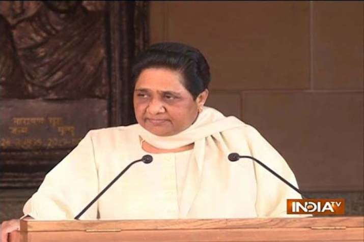 Mayawati big attack on PM Modi and BJP's on Dalit issue- India TV