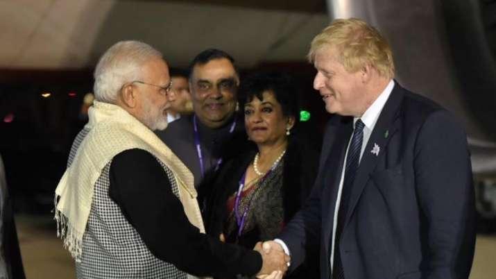 PM Modi reaches London, to do 'Bharat ki Baat'- India TV