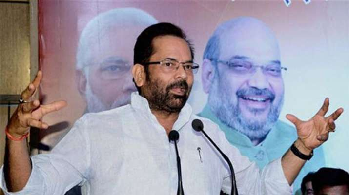 Rights of SC/STs, minorities absolutely safe under Modi govt, says Mukhtar Abbas Naqvi | PTI- India TV