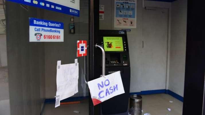 No cash in ATM- India TV Paisa
