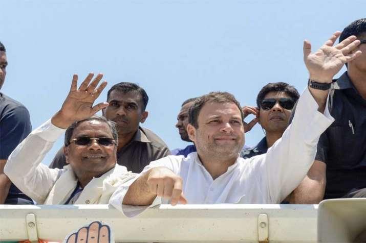 Rahul gandhi karnataka- India TV