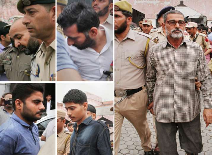 accused of Kathua rape and murder case - Khabar IndiaTV