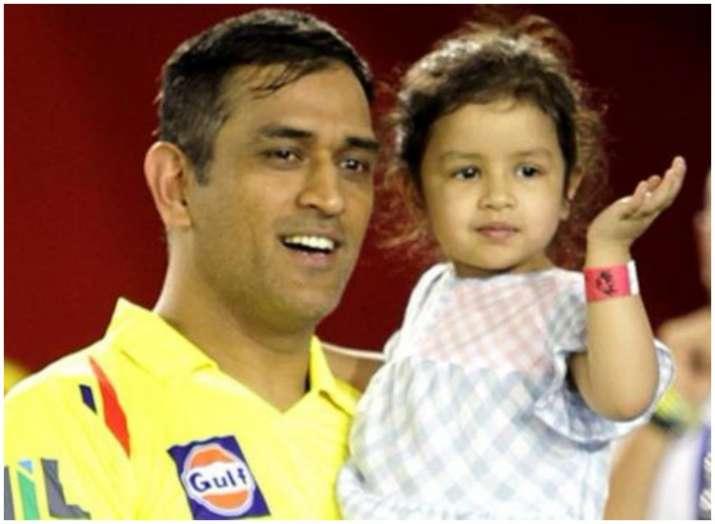 एम एस धोनी और जीवा- India TV