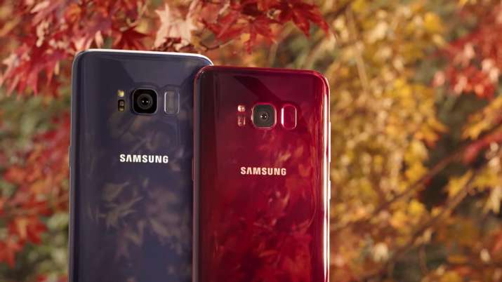 Samsung Galaxy S8 Burgundy Red Edition- India TV Paisa